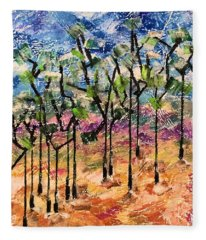 Forest Fleece Blanket