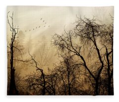 Forever Autumn Fleece Blanket