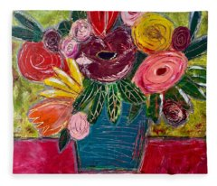 Forever Florals Fleece Blanket