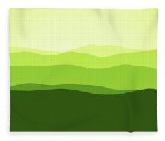 Forever Green Fleece Blanket