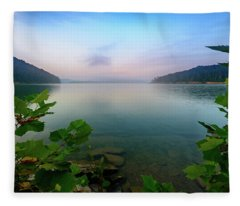 Forever Morning Fleece Blanket
