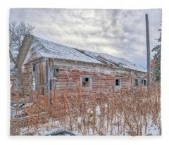 Forgotten Barn Fleece Blanket