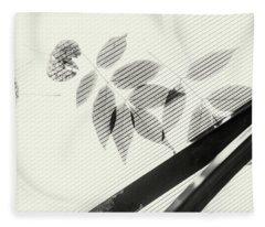 Forgotten Leaves On Plastic Fleece Blanket