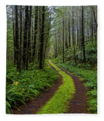 Forgotten Roads Fleece Blanket