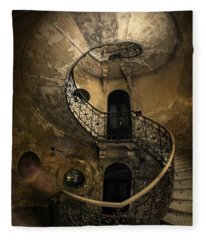 Forgotten Staircase Fleece Blanket