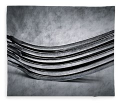 Forks - Antique Look Fleece Blanket