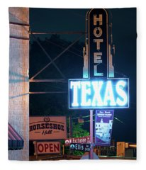 Fort Worth Hotel Texas 6616 Fleece Blanket