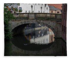 Foss Bridge - York Fleece Blanket
