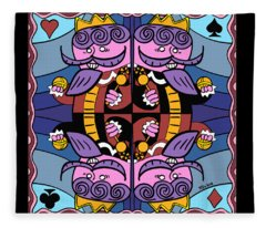Four Kings Fleece Blanket