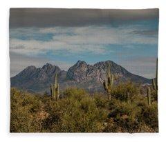 Four Peaks Fleece Blanket