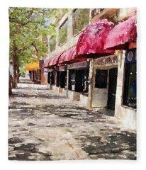 Fourth Avenue Fleece Blanket
