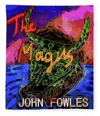 Fowles Magus Poster  Fleece Blanket