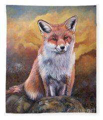 Fox Knows Fleece Blanket