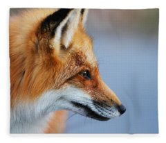 Fox Profile Fleece Blanket
