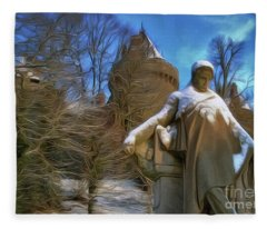 Fr De Chateaubriand Fleece Blanket