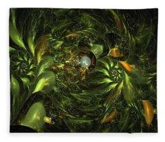 Fractal Forest Fairysafe Fleece Blanket