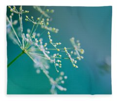 Fragile Dill Umbels Fleece Blanket