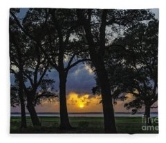 Framed Fleece Blanket