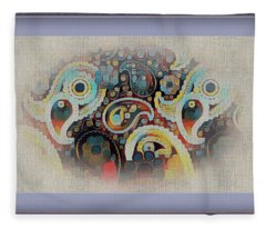 Framed Fantasy Fleece Blanket