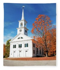 Francestown Meeting Fleece Blanket