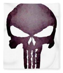 Frank Skull Fleece Blanket