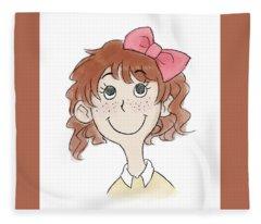 Freckle Face Coco Fleece Blanket
