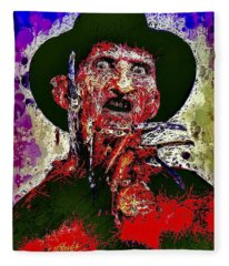 Freddy Krueger Fleece Blanket