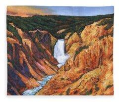 Yellowstone Fleece Blankets