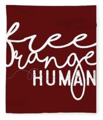 Free Range Human Fleece Blanket