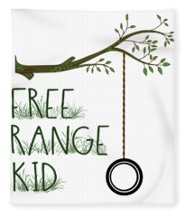 Free Range Kid Fleece Blanket