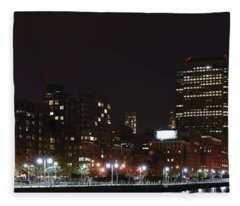 Freedom Skyline Fleece Blanket