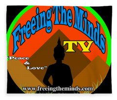 Freeing The Minds Supporter Fleece Blanket