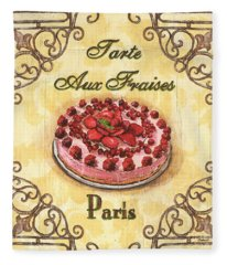 French Pastry 1 Fleece Blanket