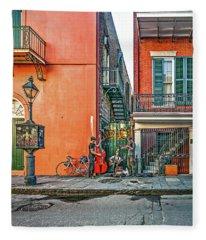 French Quarter Trio Fleece Blanket