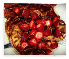 French Toast Anyone? Fleece Blanket