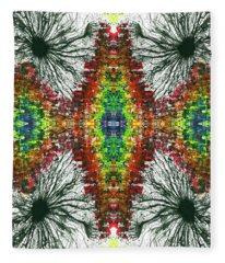Frequency Spectrum Of The Vibration #1337 Fleece Blanket