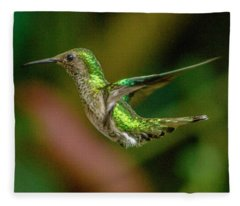Frequent Flyer 2, Mindo Cloud Forest, Ecuador Fleece Blanket