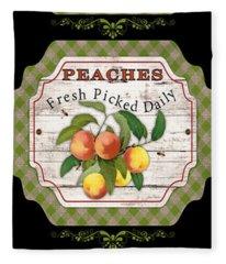 Fresh Fruit Trio--jp3757 Fleece Blanket