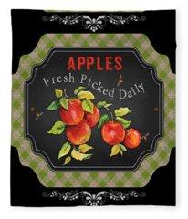 Fresh Fruit Trio--jp3759 Fleece Blanket