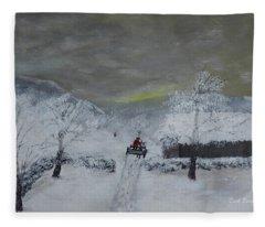 Fresh Snow Fleece Blanket