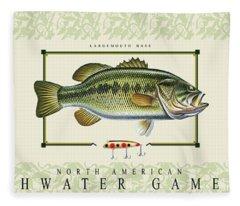 Freshwater Gamefish Fleece Blanket