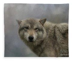 Friendly Wink Fleece Blanket