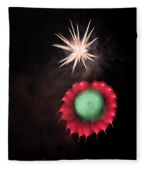Fleece Blanket featuring the photograph Friends Of The Moment by Alex Lapidus