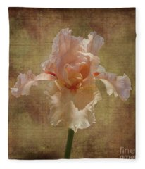 Frilly Iris Fleece Blanket