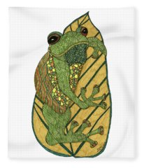Frog Fleece Blanket