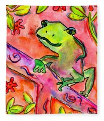 Froggy Fleece Blanket