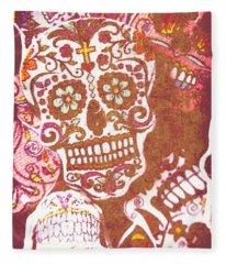 From A Tribal Design Fleece Blanket