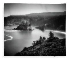 From Above Fleece Blanket