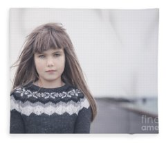 From Iceland With Love Fleece Blanket