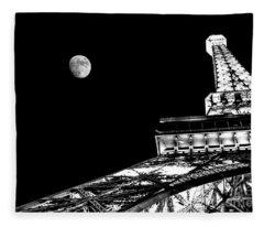 From Paris With Love Fleece Blanket